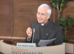 Le professeur Maurizio Chiodi